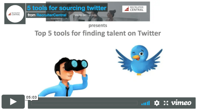 Top 5 tools for finding talent on Twitter