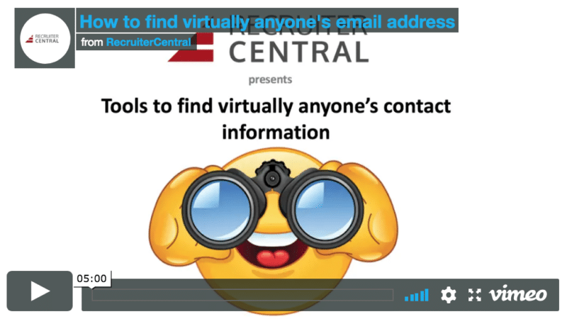 How to find virtually anyone's email