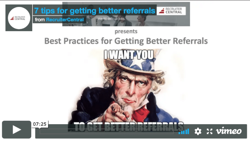 7 tips for getting better referrals